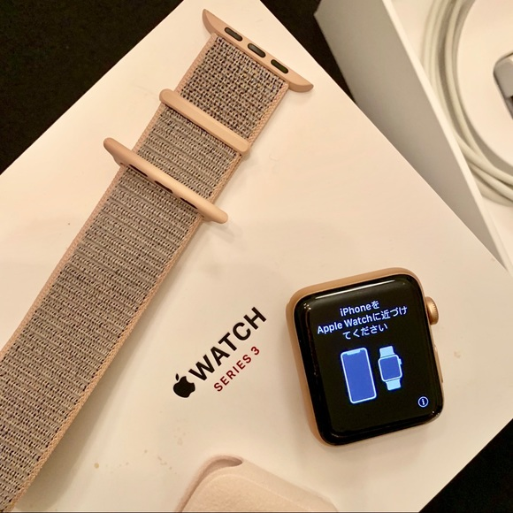 Apple Iwatch Accessories Like New Iwatch Series 3 42mm Gps